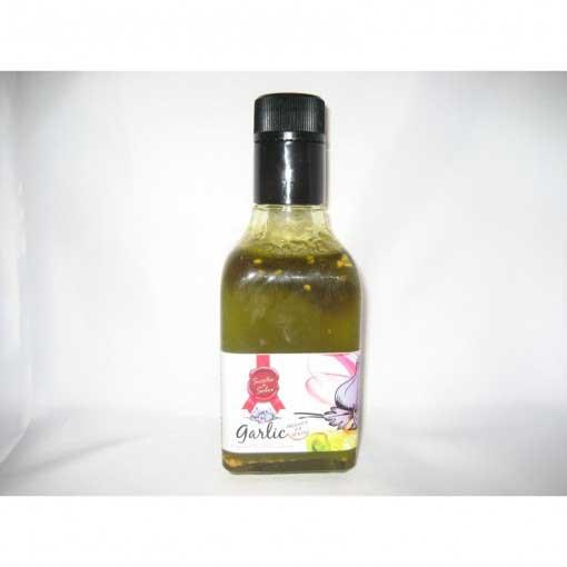 Aceite especial ajo. Botella pequeña
