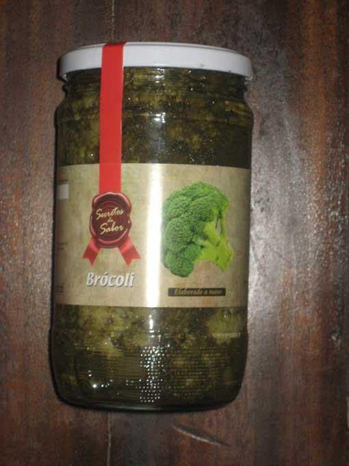 Brócoli en conserva
