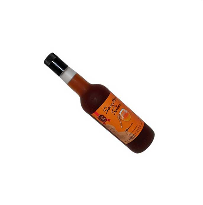 Botella de Licor de Miel