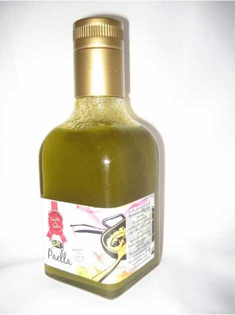 Aceite de oliva especial pescado elaborado con Aceite de Oliva Virgen Extra de la variedad picual. Producto gourmet de Jaén.