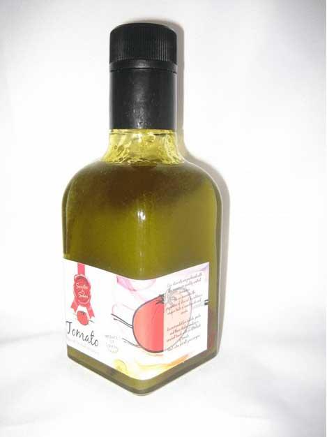 Aceite oliva virgen extra sabor tomate