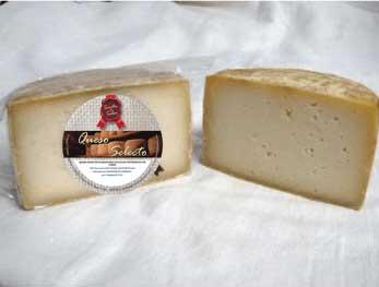 queso de oveja curado (mitad)