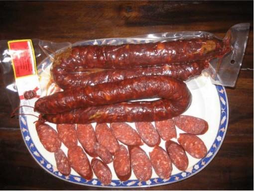 Chorizo de herradura picante