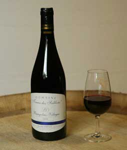 Vino tinto Beaujolais