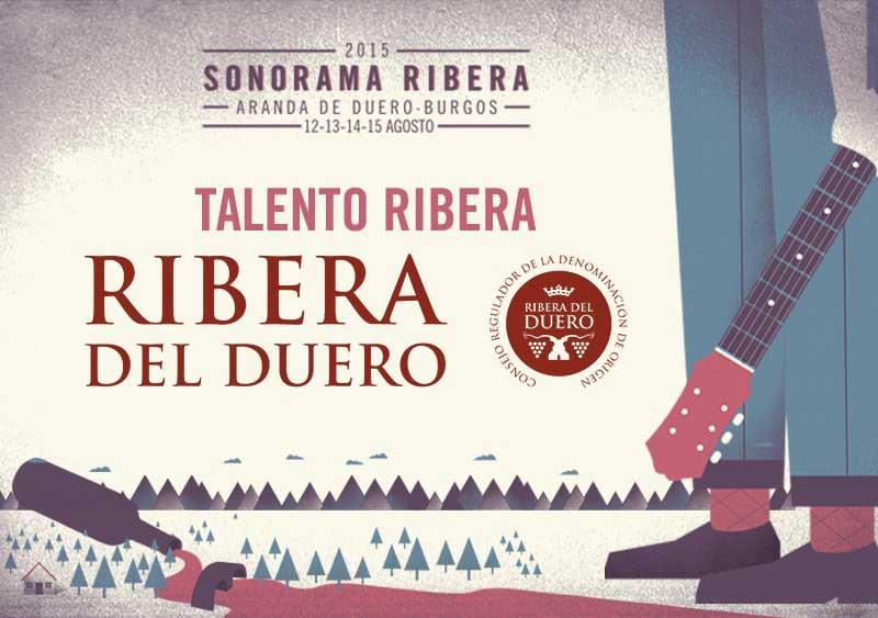 Cartel del Concurso Talento Ribera 2015