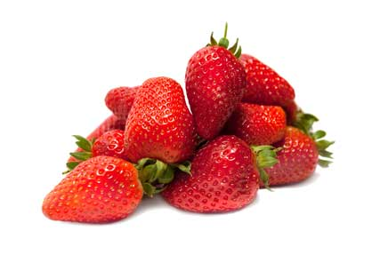 Fresas naturales para gazpacho