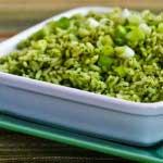 Receta Arroz en Salsa Verde