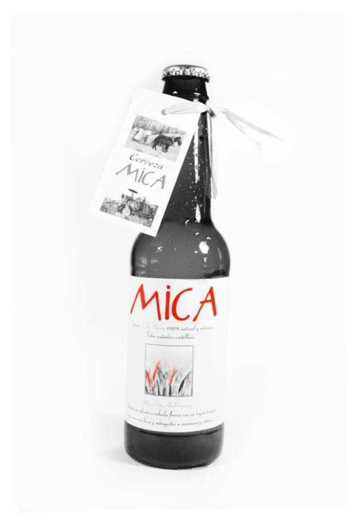 Cerveza artesanal Mica Oro