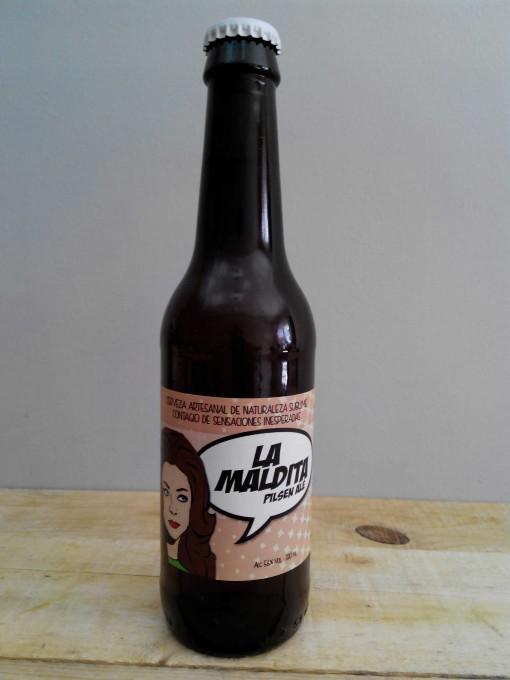 Cerveza Artesanal La Maldita Pilsen Ale