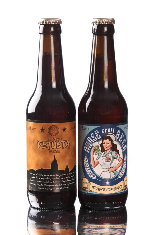 Pack Cerveza Artesana Nurse, pack degustación Ipaprofeno Nurse