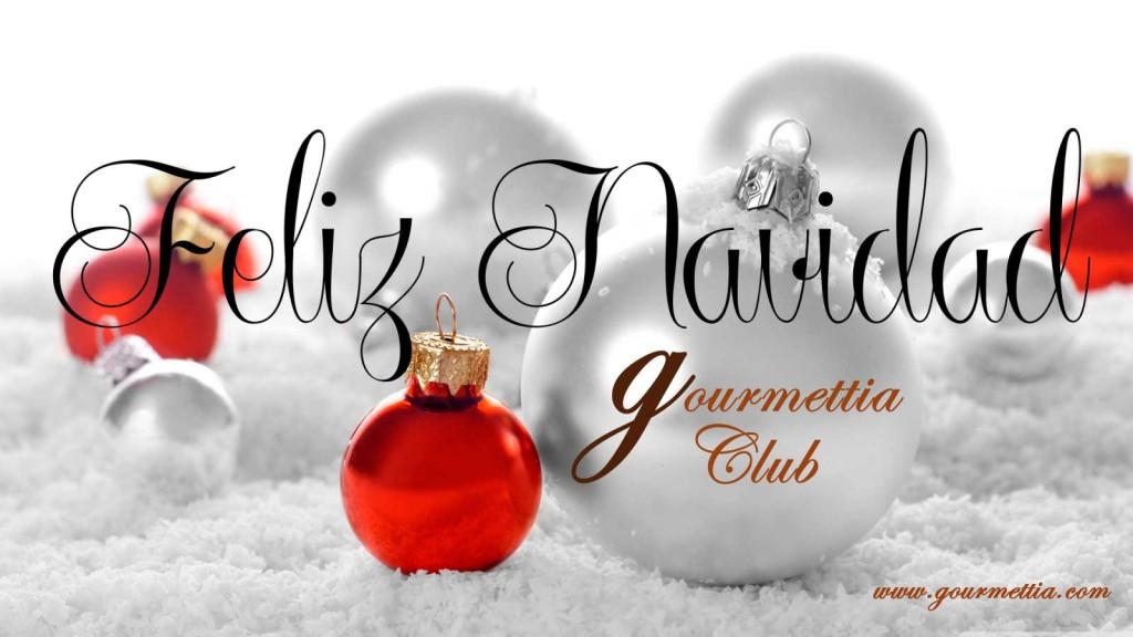 Gourmettia te desea Feliz Navidad