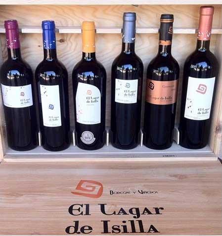 Comprar Vino Tinto El Lagar de Isilla, surtido: Joven, Roble, Crianza, Reserva, Vendimia Seleccionada. D.O. Ribera del Duero. Producto Gourmet. Delicatessen de Burgos.