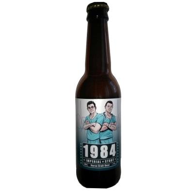 Comprar Cerveza Artesanal Nurse 1884, color muy oscuro, casi negra, con carácter. Imperial Stout. La antigua cerveza de los zares. Producto Gourmet. Delicatessen