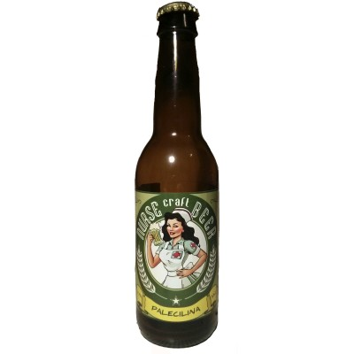Comprar Cerveza Artesanal Nurse Palecilina, rubia suave, estilo americano. Aromas cítricos y afrutados. Pale Ale, APA, estilo americano. Producto Gourmet. Delicatessen