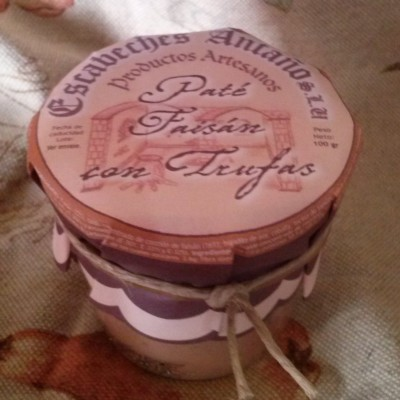 Comprar Paté de Faisán con Trufas. Elaboración artesanal de Escabeches Antaño. Receta Tradicional. Producto Gourmet de Albacete, Castilla – La Mancha