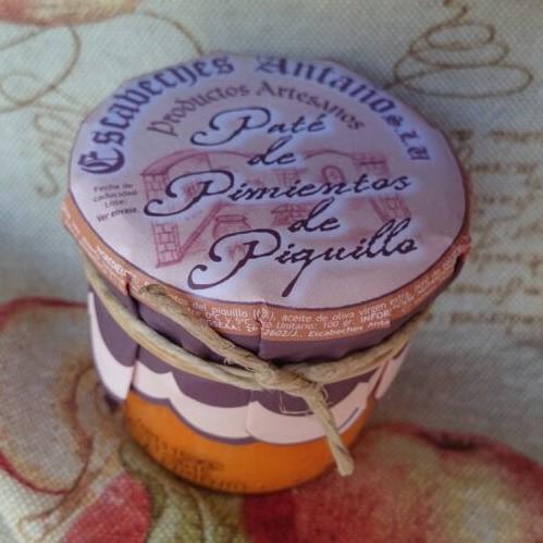 Comprar Paté de Pimientos del Piquillo. Elaboración artesanal de Escabeches Antaño. Tradicional. Producto Gourmet de Albacete, Castilla – La Mancha