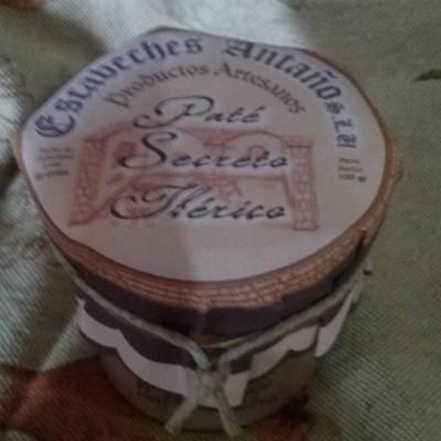 Comprar Paté de Secreto Ibérico. Elaboración artesanal de Escabeches Antaño. Receta Tradicional. Producto Gourmet de Albacete, Castilla – La Mancha