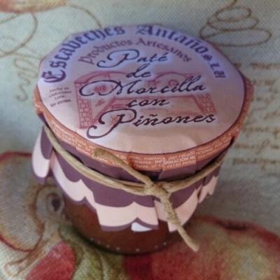 Comprar Paté de Morcilla con Piñones. Elaboración artesanal de Escabeches Antaño. Tradicional. Producto Gourmet de Albacete, Castilla – La Mancha