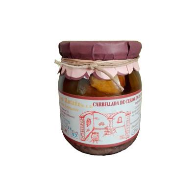 Comprar Solomillo de Cerdo en escabeche de Escabeches Antaño, elaboración artesanal. Receta tradicional. Producto Gourmet de Albacete, Castilla – La Mancha
