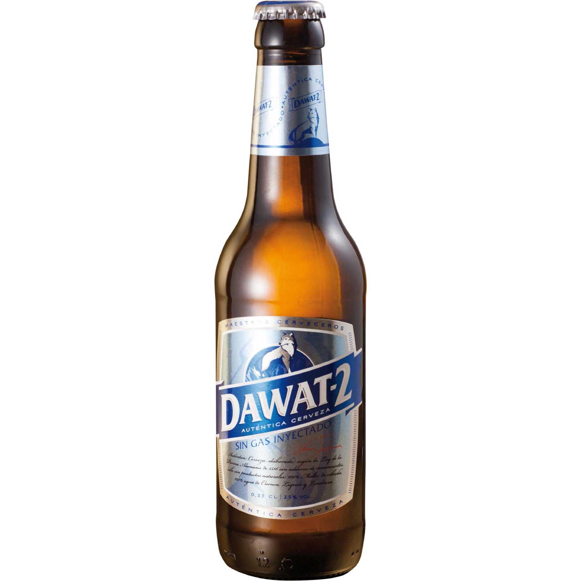Comprar Cerveza Artesanal Dawat-2. Tipo Bitter Ale, cerveza rubia, baja graduación y refrescante. Producto gourmet Cuenca. Delicatessen de Castilla-La Mancha