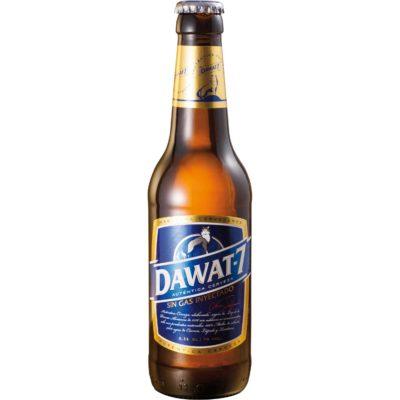 Comprar Cerveza Artesanal Dawat-7. Tipo Maibock, cerveza rubia, muy equilibrada, alta graduación. Producto gourmet de Cuenca. Delicatessen Castilla-La Mancha.
