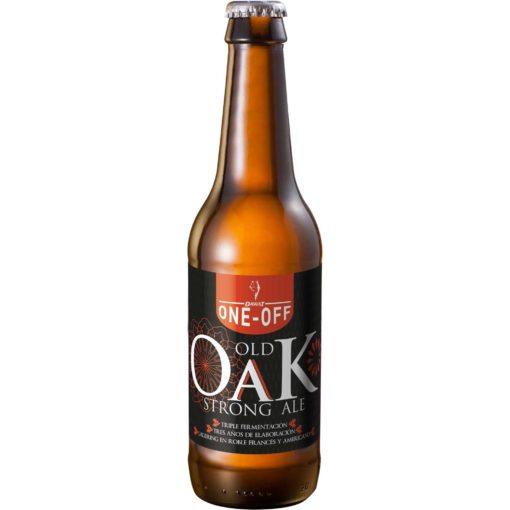 Comprar Cerveza Artesanal Old Oak. Tipo Strong Ale, cerveza tostada. Triple fermentación. Muy alta graduación. Producto gourmet Cuenca. Delicatessen Castilla-La Mancha.