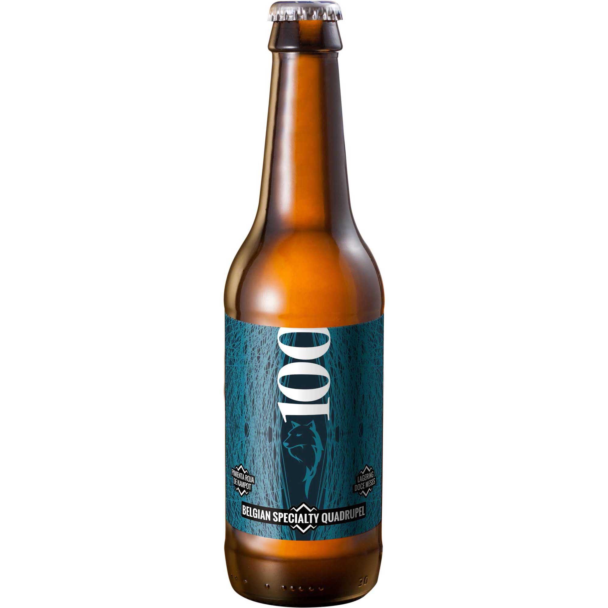 Comprar Cerveza Artesanal Dawat 100.Tipo Belgian Specialty Quadrupel, cerveza negra. Muy alta graduación. Producto gourmet de Cuenca. Delicatessen Castilla-La Mancha.