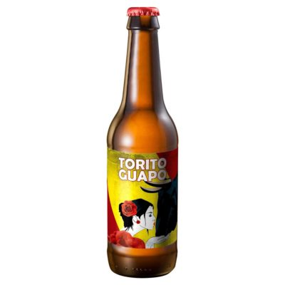 Comprar Cerveza Artesanal Torito Guapo. Tipo Maibock, cerveza rubia, muy equilibrada, alta graduación. Producto gourmet Cuenca. Delicatessen Castilla-La Mancha.