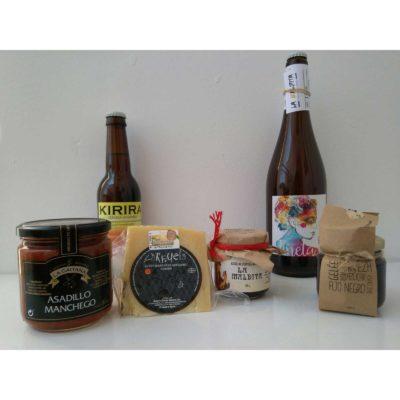 Comprar Cerveza Artesanal Jineta y Kirira, Gelées Artesanales Cerveza La Maldita. Pack degustación - regalo. Producto Gourmet Ciudad Real. Delicatessen La Mancha.
