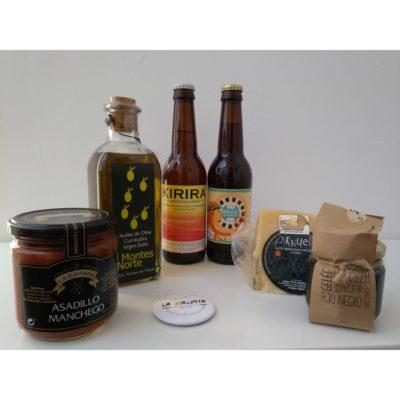 Comprar Cervezas Artesanales Jineta y Kirira, Gelée Artesanal de Cerveza La Maldita. Pack degustación - regalo. Producto Gourmet Ciudad Real. Delicatessen La Mancha.