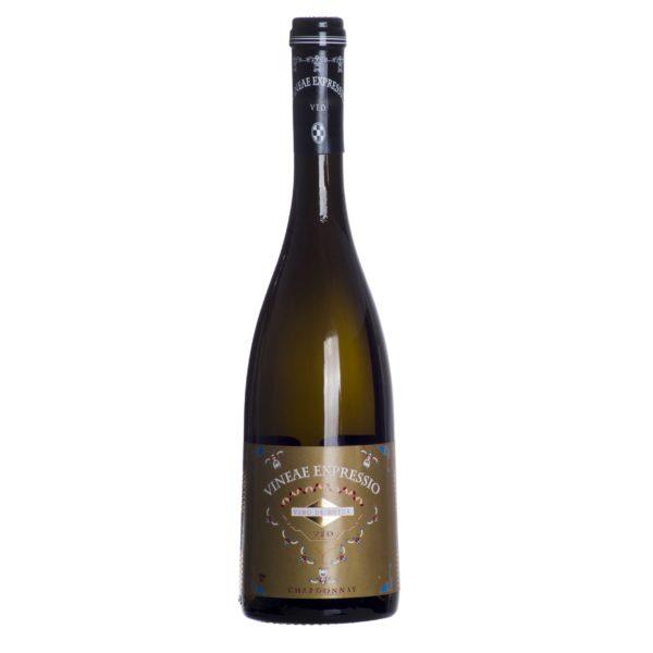 Comprar Vino Blanco de Autor, Vineae ExpressiO VEO Chardonnay. Botellas numeradas Tierra de Castilla. Gourmet Valdepeñas, Ciudad Real. Delicatessen Castilla-La Mancha