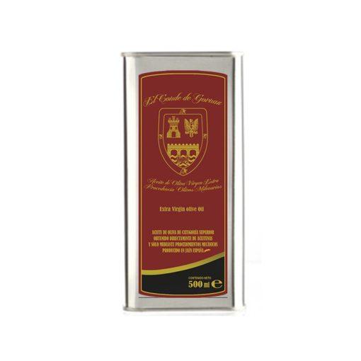 Comprar Lata de Aceite de Oliva Virgen Extra, AOVE. Variedad Picual, Olivos Milenarios. Lata. Producto Gourmet de Andújar, Jaén. Delicatessen de Andalucía.