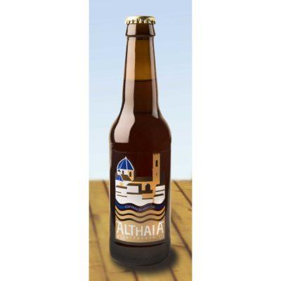Comprar Cerveza Artesanal Althaia Brown Ale. Cerveza tostada, con cuerpo y muy elegante. Producto Gourmet y deicatessen de Altea, Alicante.