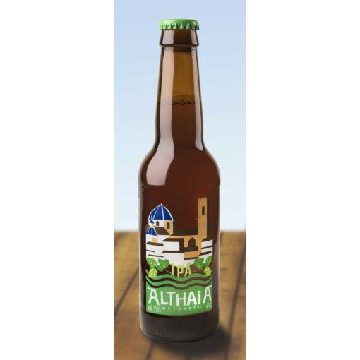 Comprar Cerveza Artesanal Althaia IPA. American IPA, con cuerpo medio y sabor a lúpulo. Producto Gourmet de Altea, Alicante. Delicatessen Comunidad Valenciana.