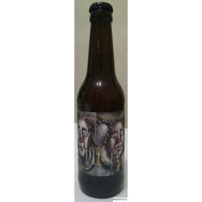Comprar Cerveza Artesanal La Primera Negra. Tipo American Stout, cerveza negra, no filtrada. Producto Gourmet de Ciudad Real. Delicatessen de Castilla-La Mancha.