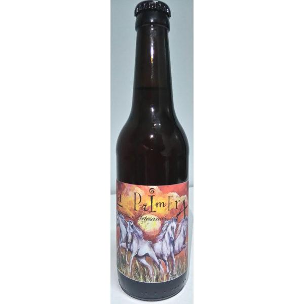 Comprar Cerveza Artesanal La Primera Roja. Tipo Irish Ale, cerveza roja, no filtrada. Fácil de beber. Producto Gourmet de Ciudad Real. Delicatessen Castilla-La Mancha.