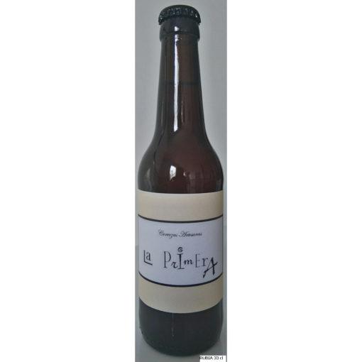 Comprar Cerveza Artesanal La Primera. Tipo Cream Ale, cerveza rubia, suave y refrescante. Producto Gourmet de Ciudad Real. Delicatessen de Castilla-La Mancha.