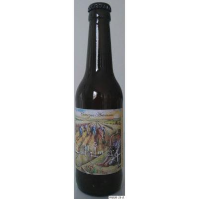 Comprar Cerveza Artesanal La Primera Trigo. Tipo Weizenbier, cerveza rubia, suave, no filtrada. Producto Gourmet de Ciudad Real. Delicatessen Castilla-La Mancha.