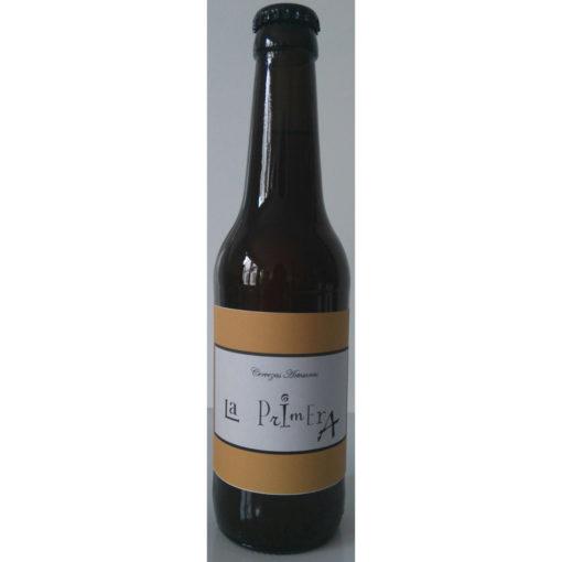 Comprar Cerveza Artesanal La Primera Trigo Tostada. Tipo Weizenbock, cerveza tostada, no filtrada. Producto Gourmet de Ciudad Real. Delicatessen Castilla-La Mancha.