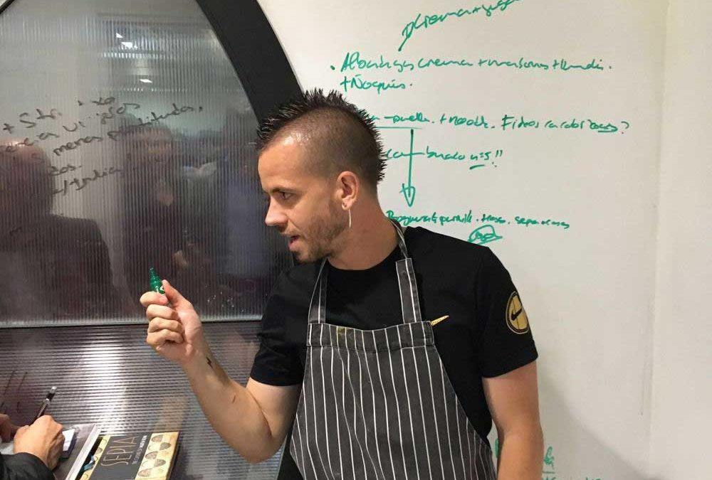 Dabiz, chef  del restaurante Diverxo