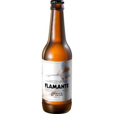 Comprar Cerveza Artesanal Flamante. Tipo Weizenbier, cerveza de trigo, muy refrescante. Sin filtrado. Producto gourmet Cuenca. Gourmettia
