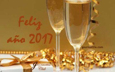Gourmettia, os desea ¡Feliz Año 2017!