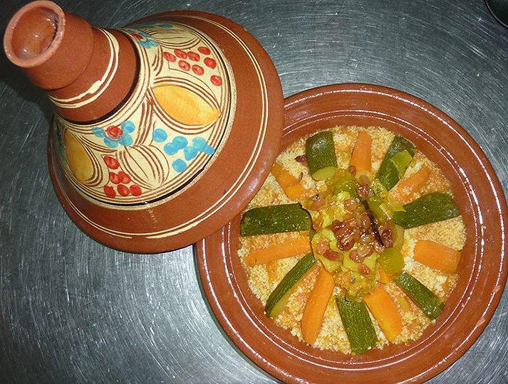 Restaurante El Fogón de Trifón. Cuscus
