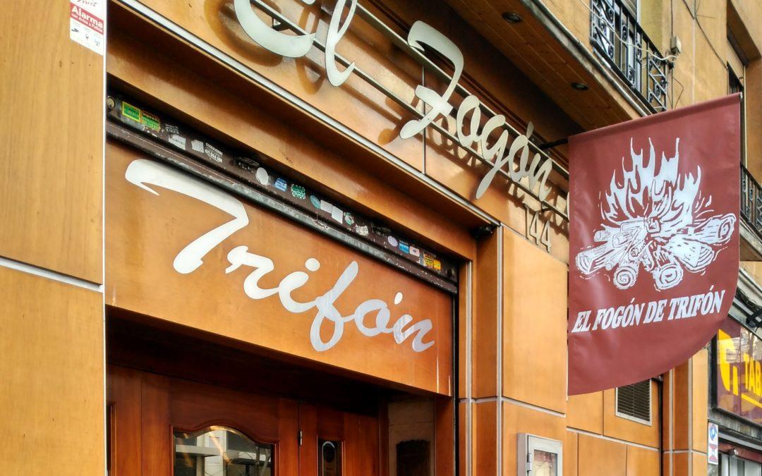 Restaurante El Fogón de Trifón: alma, cercanía y sentimiento.