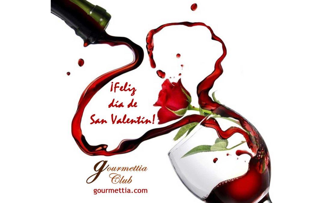 Menú de San Valentín. ¡Feliz día de los enamorados!