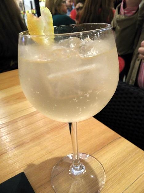 Restaurante TRES60 - Gin Tonic