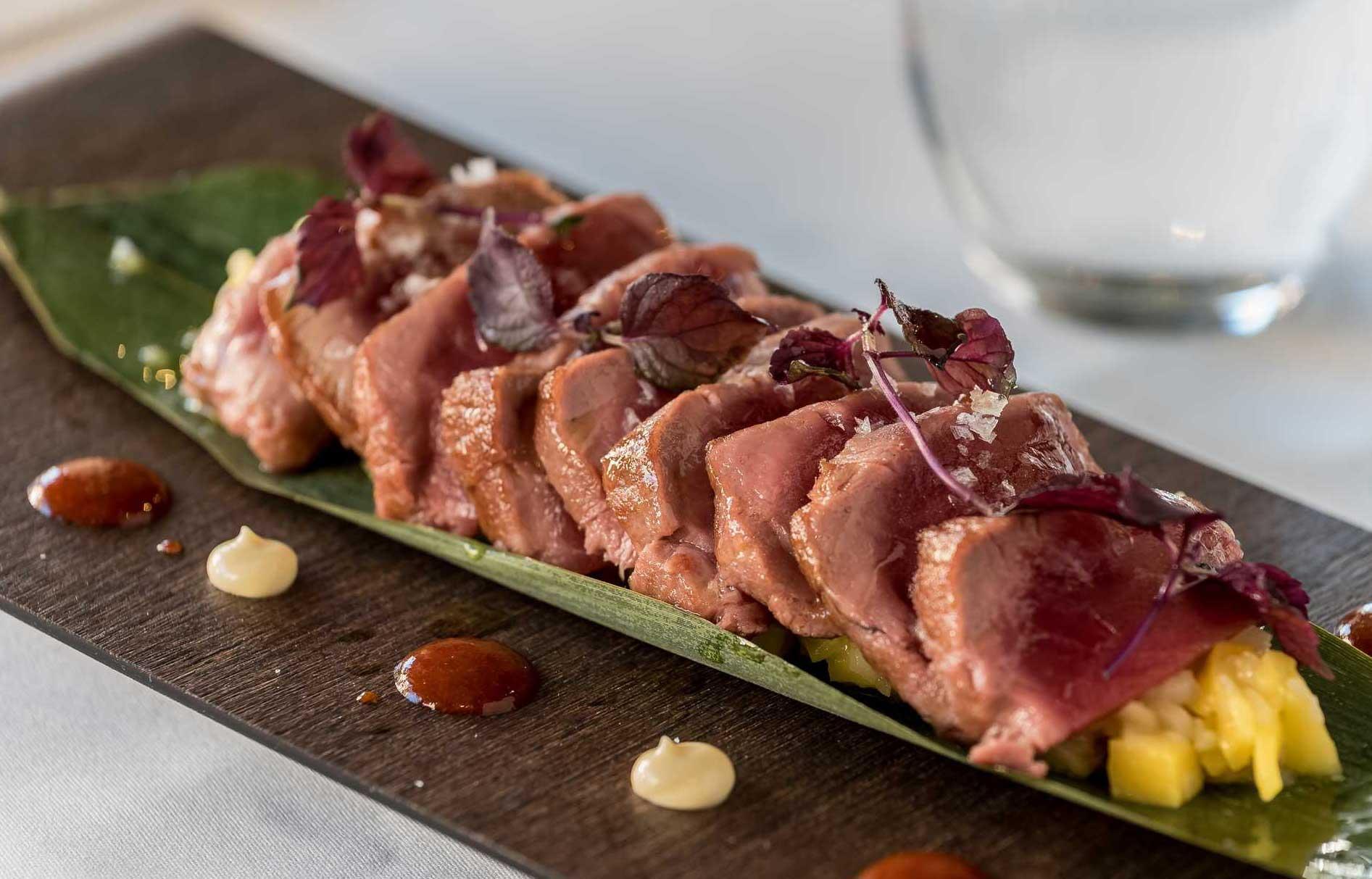 Restaurante TRES60 - Tataki de atún